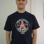 2) Le T-Shirt Officiel du PSG Club NYC (disponible aussi en blanc)