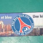 3) L'écharpe Originale du PSG Club NYC (Édition 2007) - Face B
